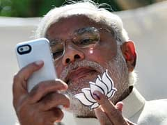 Narendra Modi Flashes BJP's Party Symbol: Who Said What