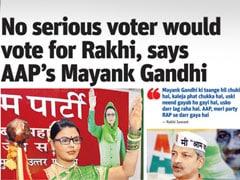 Elections 2014: Rakhi Sawant files complaint against Mayank Gandhi