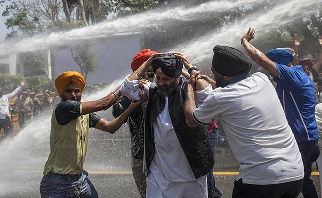 Large protests over Captain Amarinder Singh's remarks on Jagdish Tytler to  NDTV