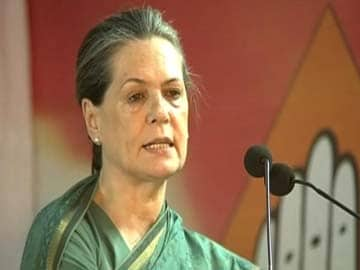 TRS chief did not fulfill his promises, cheated Congress: Sonia Gandhi