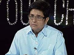 Kiran Bedi Hints at Joining Politics