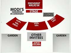 On Narendra Modi's Guest List 2500 People, SAARC Leaders
