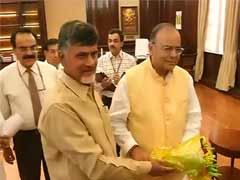 Centre Promises Full Support to Chandrababu Naidu's Seemandhra Wish List