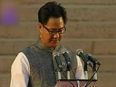 Minister of State (Home Affairs): Kiren Rijiju