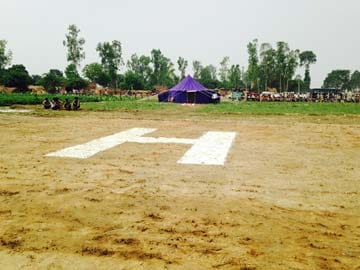 Badaun Gang-Rape: For Mayawati's Visit, a Farmer's Land Cleared to Build a Helipad