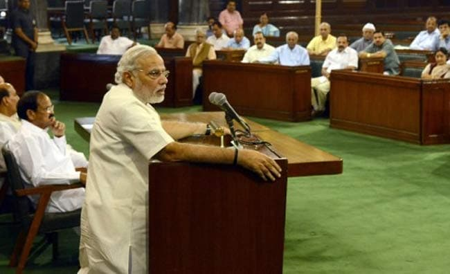 Narendra Modi To MPs: Do Not Touch My Feet