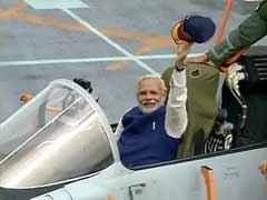 'It's a Moment of Pride for Me': PM Narendra Modi On Board INS Vikramaditya