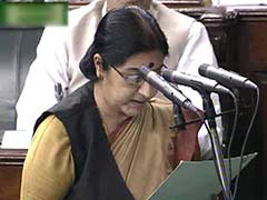 Sushma Swaraj Takes Oath in Sanskrit: 10 Facts on Lok Sabha Oath-Taking Ceremony