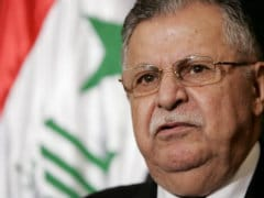 Iraq President Jalal Talabani Returns After Long Absence