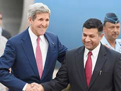 John Kerry Arrives in India for Strategic Dialogue