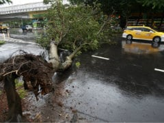 China Braces for Second Typhoon; Taiwan Drenched