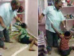 Young Children Beg Their Teacher To Spare Them