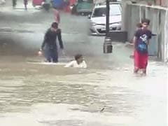 Heavy Rain Disrupts Normal Life in Gujarat