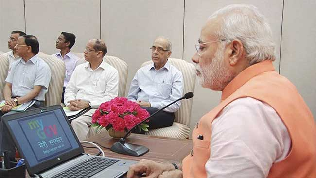 Now, Narendra Modi Government Plans to Get You Walking on a Digital Cloud