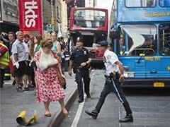 13 Hurt in New York City Theatre District Bus Crash