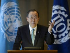 UN Chief Hopes Gaza Ceasefire Will Lead to Peace Talks