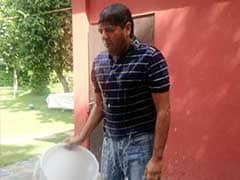 This, You Need to See: NDTV's Vikram Chandra, Drenched But Smiling #IceBucketChallenge