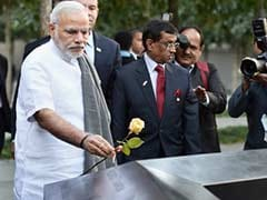 PM Narendra Modi Visits Ground Zero, Pays Tribute to 9/11 Victims