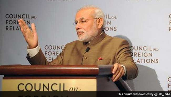 Terrorism Is Exported To Us, It Is Not Home Grown, Says PM Modi In New York