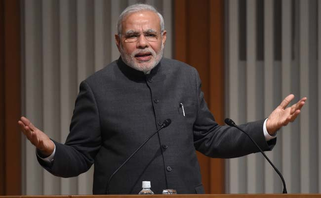 PM Modi Takes Swipe At China Before Talks With Japanese Premier Abe