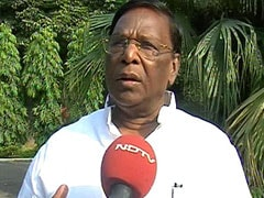 Puducherry, Karaikal Drought Hit, Says V Narayanasamy