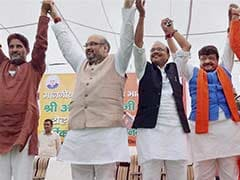 Press Lotus Button So Hard That Current Is Felt in Italy: BJP President Amit Shah
