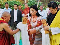 Bhutan King Visits Varanasi