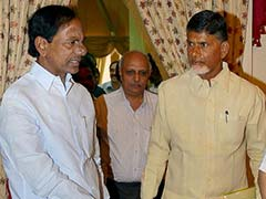 Chief Ministers of Andhra Pradesh and Telangana Meet over Nagarjuna Sagar Dam Issue
