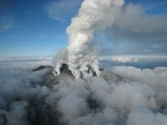 Search For Bodies on Japan Volcano Halted as Typhoon Looms