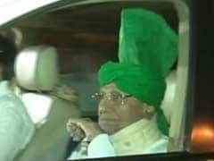 Former Haryana Chief Minister Om Prakash Chautala Surrenders at Tihar Jail