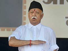 RSS Chief Mohan Bhagwat Gives Voting a Miss