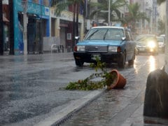 Two Dead, One Missing as Typhoon Vongfong Pounds Japan