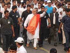 गुजरात की मुख्यमंत्री ने नरेंद्र मोदी की तुलना सरदार पटेल से की