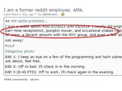 Fired Employee Slams Reddit on Reddit, Gets a Brutal Response From CEO