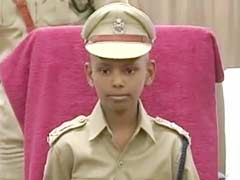 Terminally Ill Boy is Hyderabad Police Chief For a Day