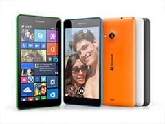 Microsoft Unveils Lumia 535, Drops Nokia Name