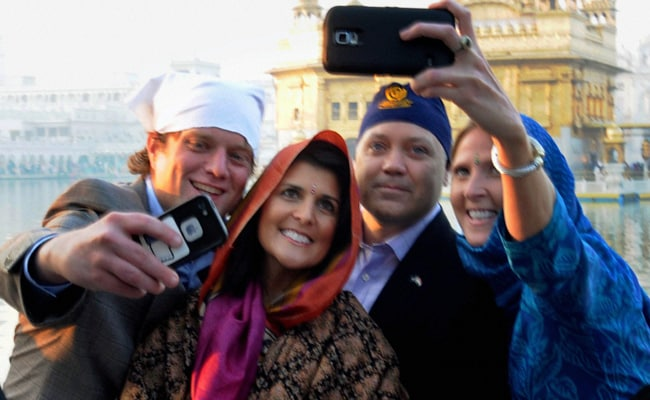 Image result for governor nikki haley in india