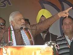 Two Families Taking Turns at Robbing Jammu and Kashmir, Says PM Narendra Modi