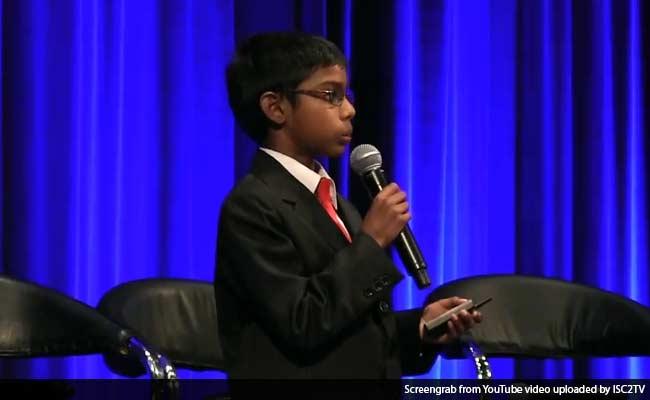 Indian-Origin Whizkid Reuben Paul Lectures on Cyber Security