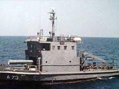 Naval Vessel Sinks Outside Visakhapatnam Harbour, One Dead, Four Missing