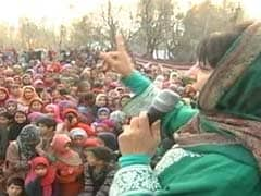 After Promising Sky Omar Did Nothing For His Constituency: PDP Chief Mehbooba Mufti