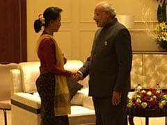 PM Modi Meets Myanmar Pro-Democracy Icon Aung San Suu Kyi