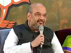 BJP President Amit Shah Addresses the Media on Election Result Day: Highlights