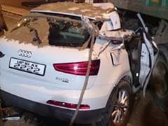 Speeding Audi SUV Crashes Into Truck in Delhi, 1 Dead, 2 Seriously Injured