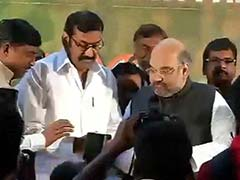 Former Union Minister and DMK Leader Napoleon Joins BJP