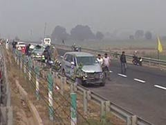 30-Vehicle Pileup On Yamuna Expressway Near Delhi Due To Fog, Dozens Injured