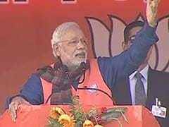 PM Modi Addresses Rally in Jharkhand's Dhanbad: Highlights