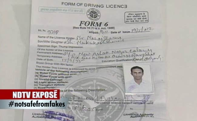 For Rs 200 A Licence To Drive A Cab NDTV Expose After