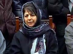 Dialogue Is The Solution To Political Problems, Not Guns: Mehbooba Mufti