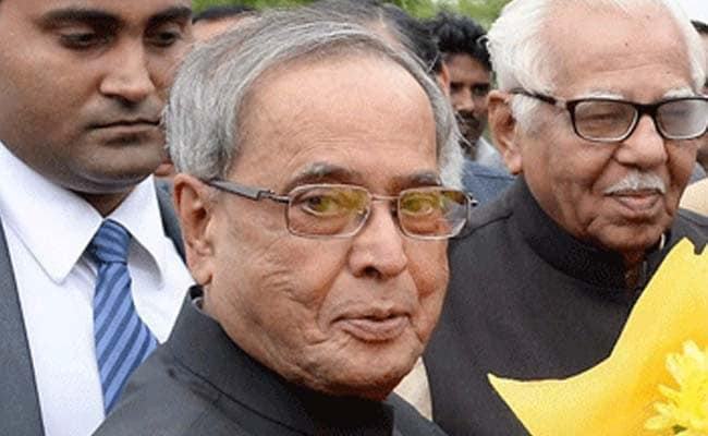 On 79th Birthday, President Pranab Mukherjee to Unveil Memorabilia, Artwork for Public